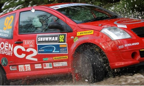 Andy Struthers Citroen C2