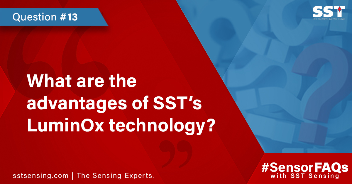 What are the advantages of SST's LuminOx technology
