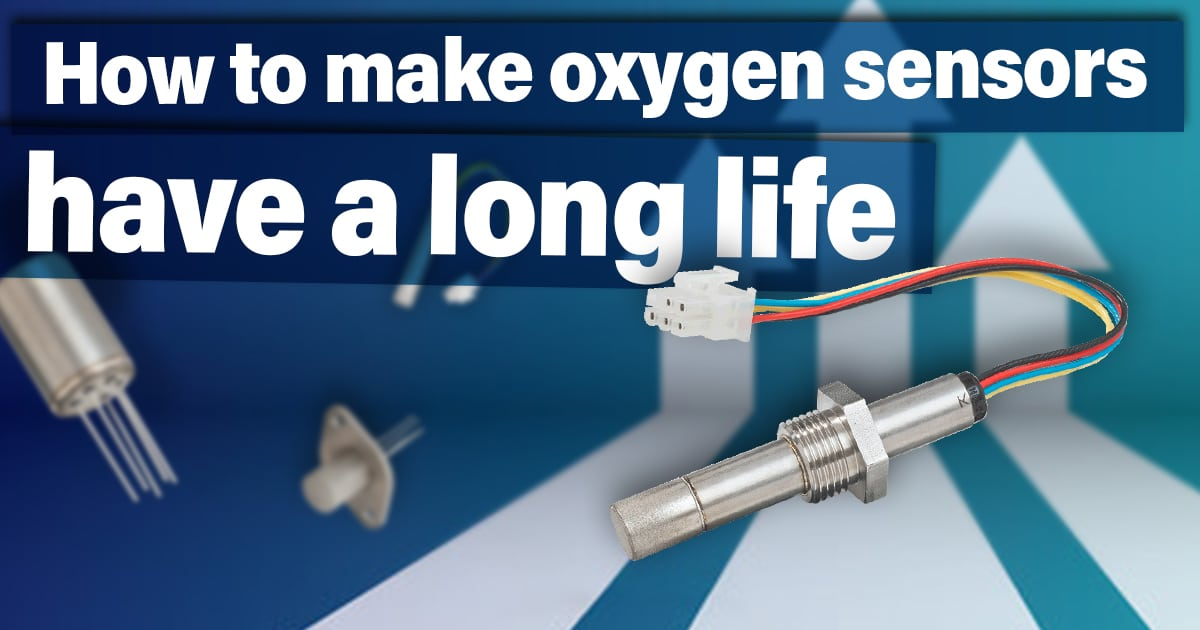 How to make oxygen sensors have a long life